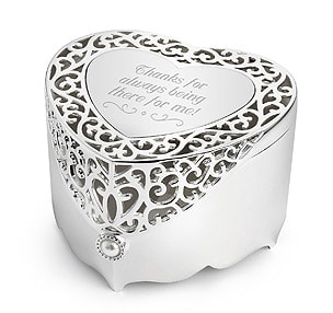 Laser Engraving on jewellery box